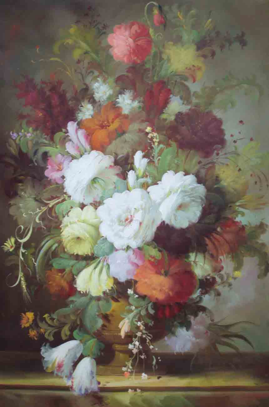 25 Beautiful Flower Painting from top artists around the world