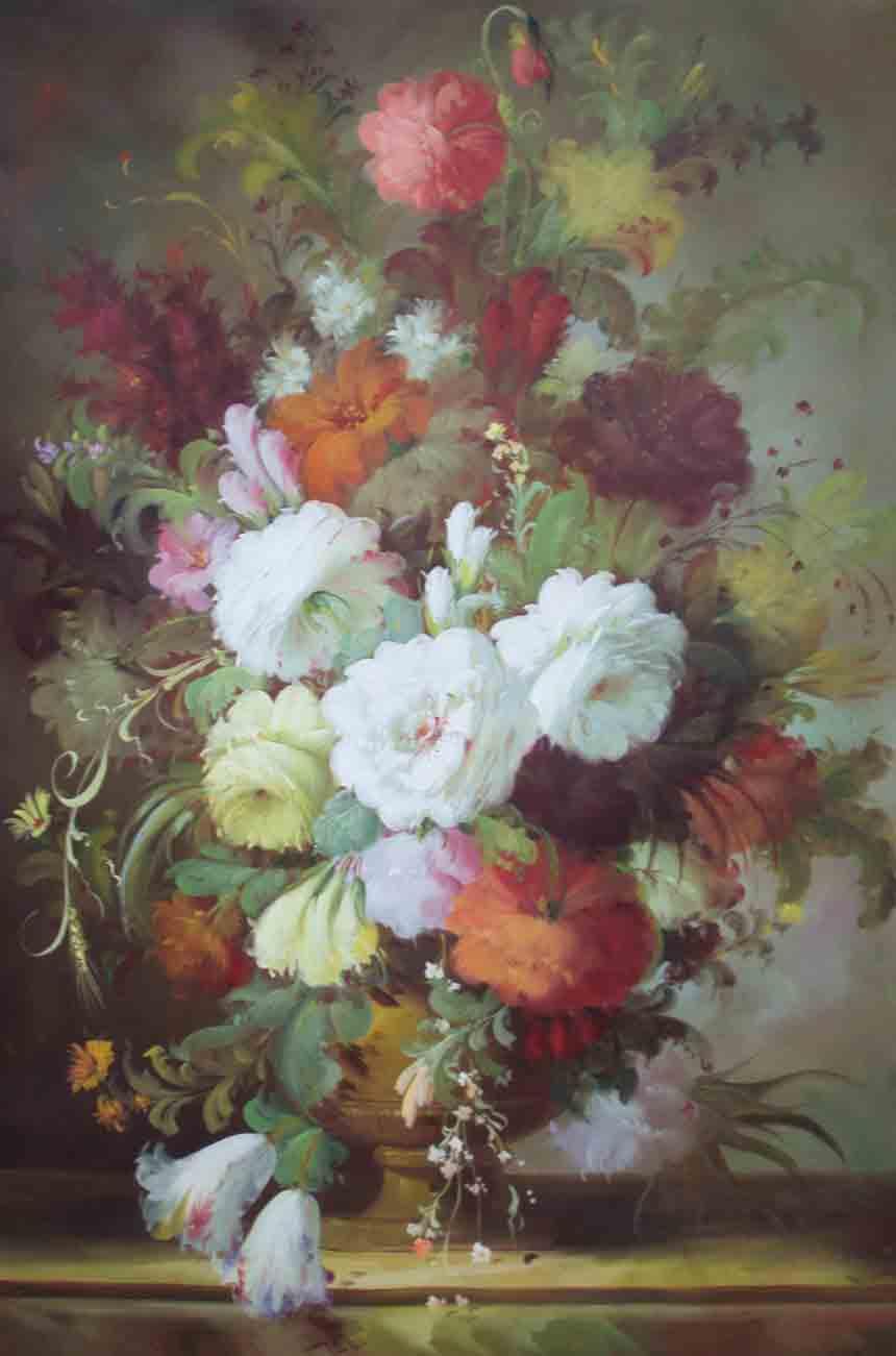 Beautiful flower paintings izmirmasajfo
