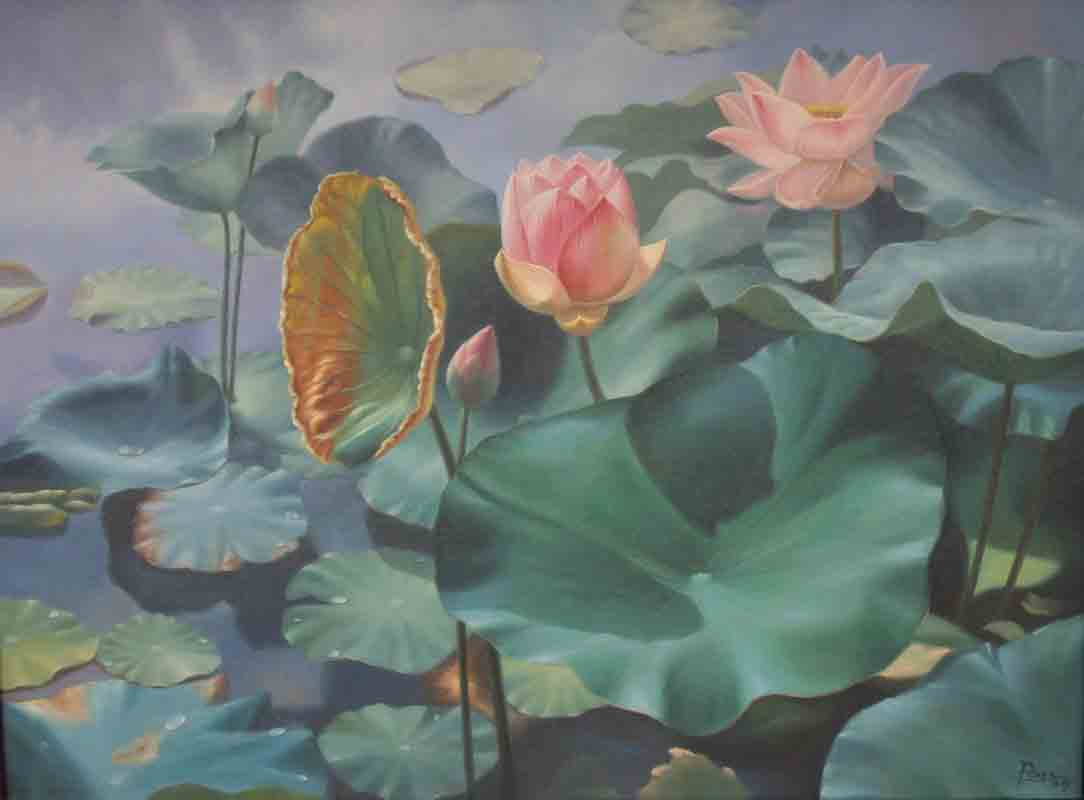Beautiful Flower Paintings